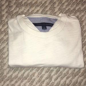 Tommy Hilfiger cream long sleeve